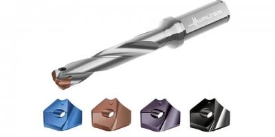 瓦尔特单片钻头D4140带有全新的切屑槽设计