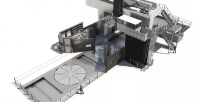 杜普莱恩:一台面向未来的超大型龙门铣床