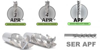 京瓷SGS铝加工用高性能整硬立铣刀