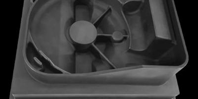 Mikron HSM 500 Graphite加工变速箱箱体电极的应用说明