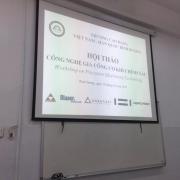 森拉天时在越南职业机械学校举办workshop